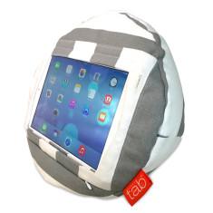 HAPPYtab iPad Cushion in Amalfi Grey
