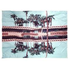 Palm Springs giant wool scarf