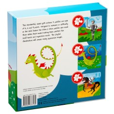 Knights & dragons 3 puzzles in 1 box