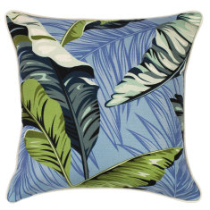 Outdoor cushion in coco blue (various sizes)