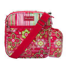 Insulated Lunchbox Sling in Zoe Selma Stripe print
