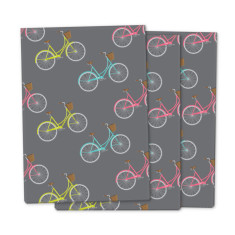 Vintage bicycle wrapping paper (3 pack)