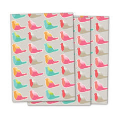 Pretty bird wrapping paper (3 pack)