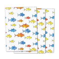 Camouflage fish wrapping paper (3 pack)