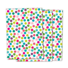 Confetti dot wrapping paper (pack of 3)