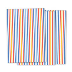 French stripe wrapping paper (pack of 3)