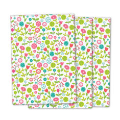 Swedish garden wrapping paper (pack of 3)