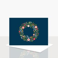 Wreath greeting card (box of 8)