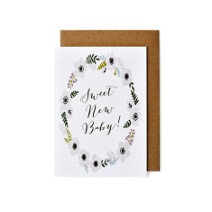 New baby greeting cards (pack of 5)