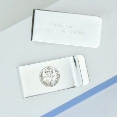 Threepence money clip (1915-1944)