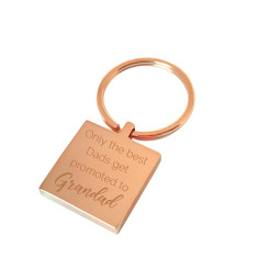The best dads personalised keyring