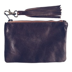 Unisex satchel in vintage look leather