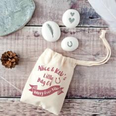Little Bag Of Happy Ever After Keepsake Pebble Kit