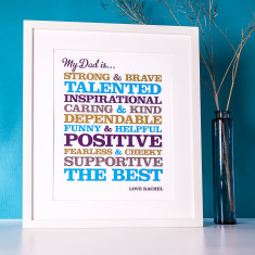 Personalised Attributes Print