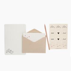An April Idea jars of love writing set