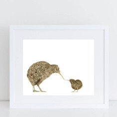 Kiwi Love Limited Edition Fine Art Print