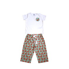 Children's fox pyjamas