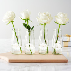 Personalised 'Baby' Clouds Bottle Vases