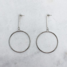Alice earrings in silver