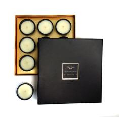 Ormolu amber et musc 9 votive candle box