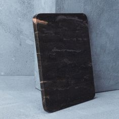 Black with Grey Natural Marble Cheeseboard