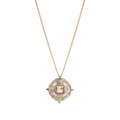 The Fine Sovereign Necklace - Gold