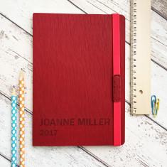 Personalised 2018 Journal Notebook
