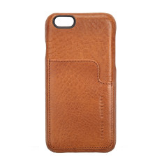 Hunter and Fox leather iPhone case in tan