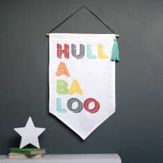 Hullabaloo Fabric Wall Hanging