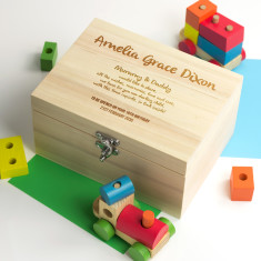 Personalised Time Capsule Keepsake Box