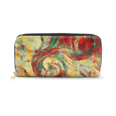 Rapt Marble Effect Vegan Leather Wallet Purse