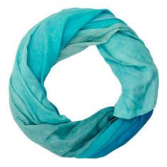East Cape linen-blend scarf