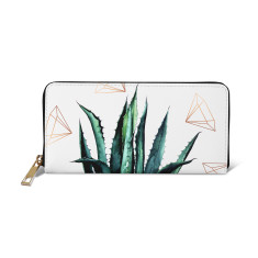 Agave Geometry Vegan Leather Wallet