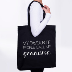Favourite People Call Me Grandma Tote Bag