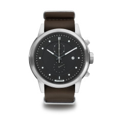 Hypergrand maverick chronograph oak brown leather