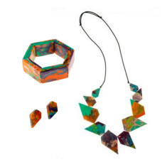 Wonderland Artisan Edge Jewellery Set