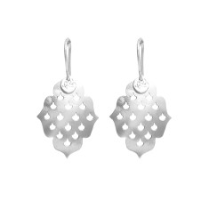 Screen Goddess Small Earrings In Silver
