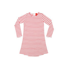 Red Stripe Nightie Senior