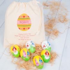 Personalised Children's Easter Egg Bag