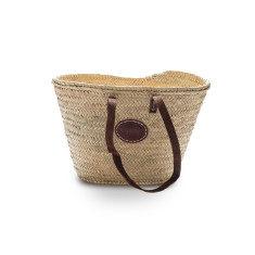 Single strap handle basket