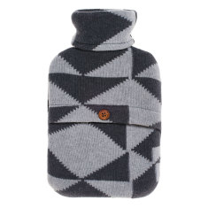 Mountain hot water bottle cover