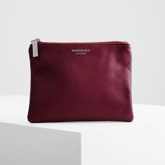The base bag in burgundy