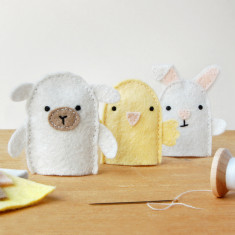 Make Your Own Spring Finger Puppets Craft Kit