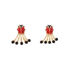 Ladybird Clap Earrings