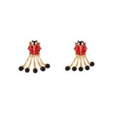 Ladybird Clap Earrings