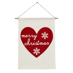 Merry Christmas handmade wall banner