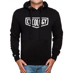 Men's pullover hoodie in black