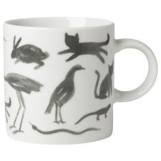 Secret Garden Short Mug