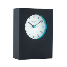 London Clock Company Tangent Black Table Clock
