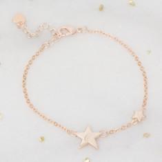 Honour Personalised Silver Star Bracelet